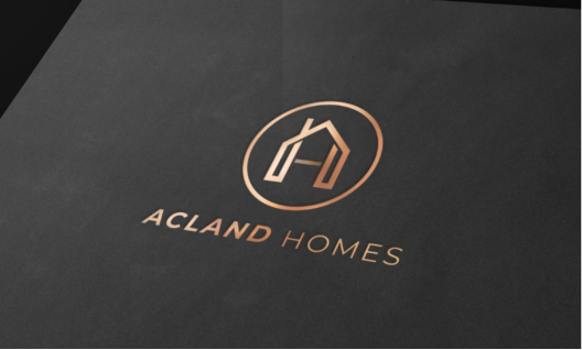 Acland Homes rebranding project by MGC Agency